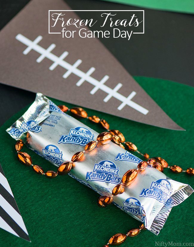 Klondike Kandy Bars = Frozen Treats for Game Day