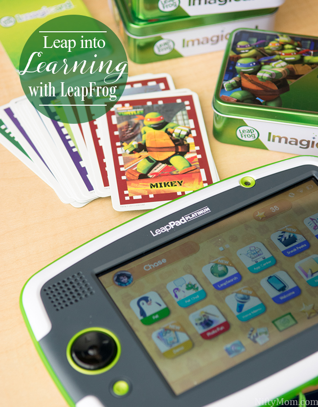 Leap Into Learning with LeapFrog