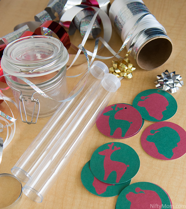 Holiday Treat Jars with Free Printable Tags