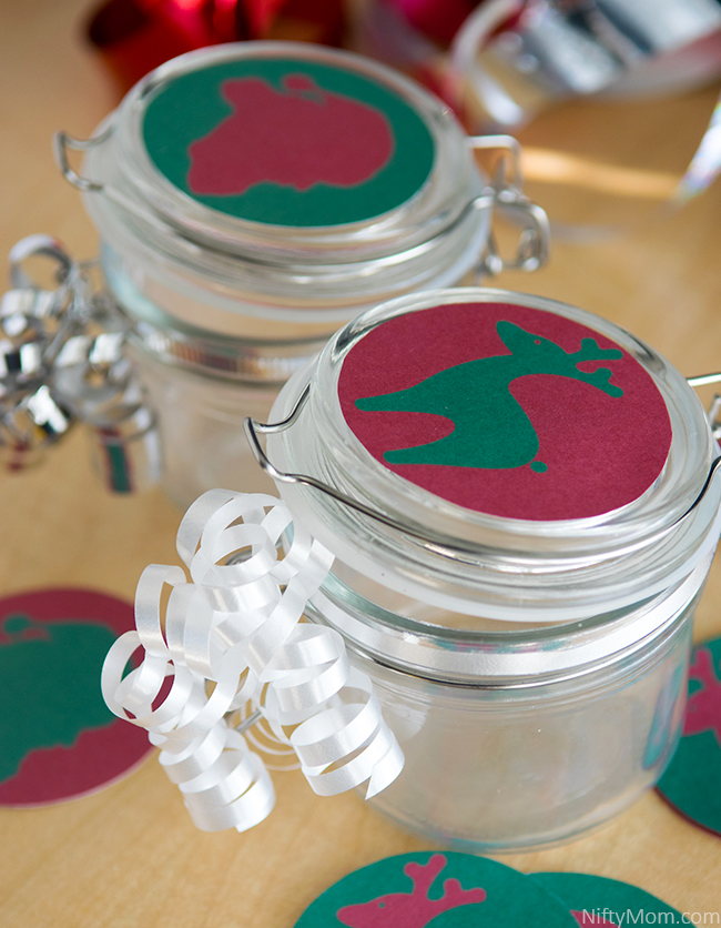 Printable Round Treat Jar Tags