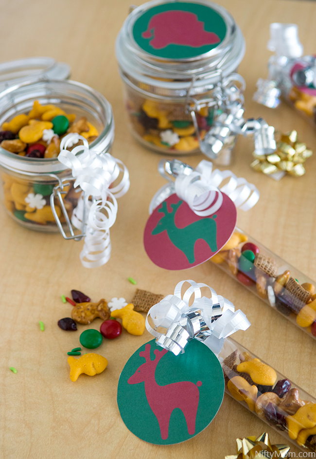 Simple Holiday Treat Jar Printables