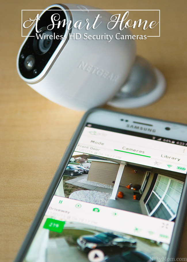 A Smart Home with Arlo Wireless HD Security Cameras