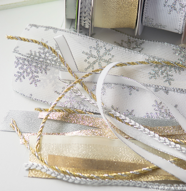 Gold & Silver Ribbon