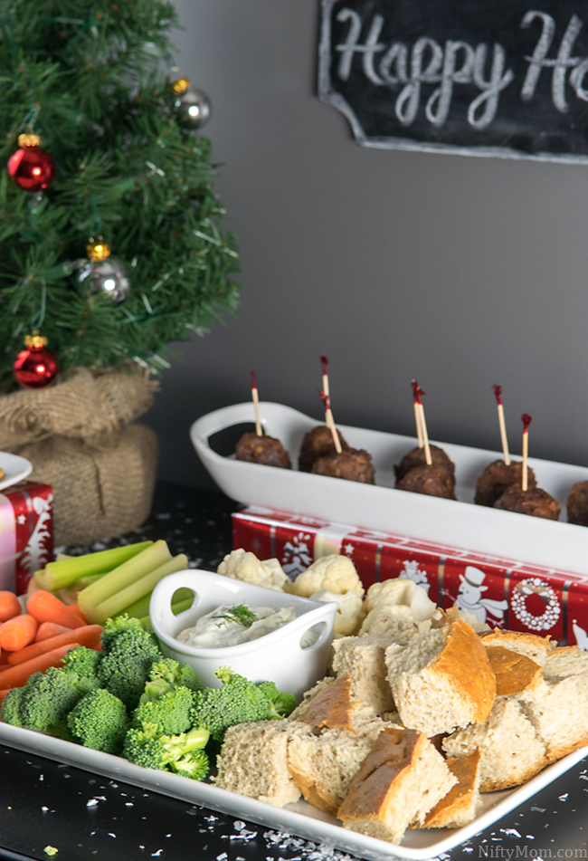 Easy Holiday Appetizer Setting with 3 Easy Recipes