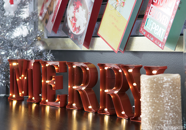 Holiday Marquee Letters