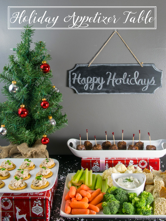 Easy Holiday Appetizer Table Dill Dip Recipe
