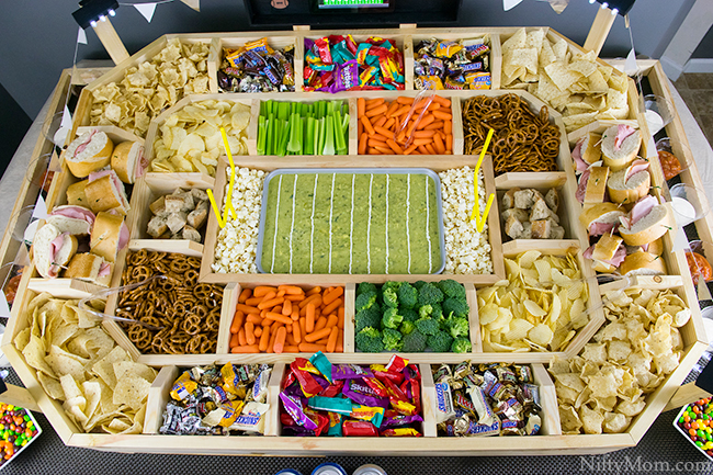 How to Make an Epic Snack Stadium for Football Parties