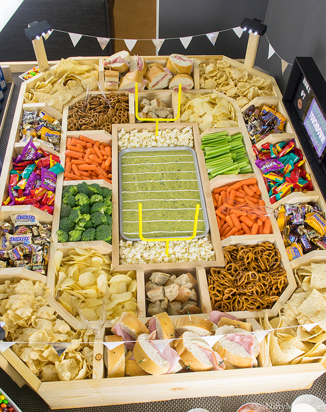 How to Make a Snack Stadium to Feed a Whole Crowd