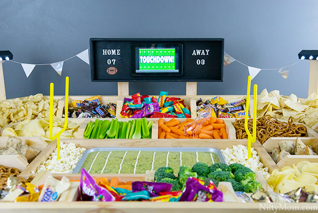 How to Make a Snack Stadium with Working Lights and Scoreboard