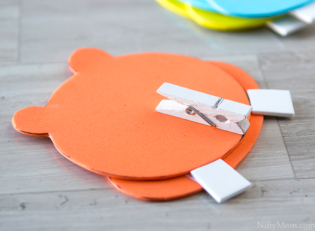 Hungry Hungry Hippos Printable Craft Idea
