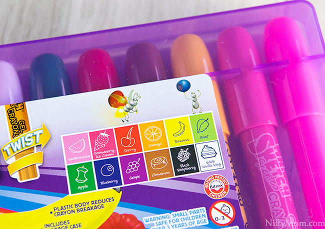 Mr. Sketch Scented Twistable Crayons