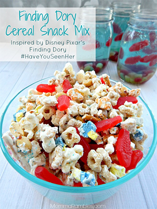 Finding Dory Cereal Snack Mix