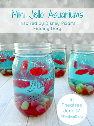 Find Dory Mini Aquariums