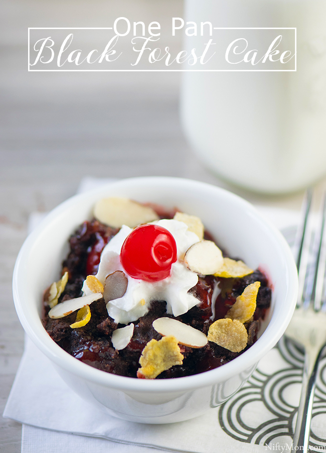 How to Make a One Pan Black Forest Cake