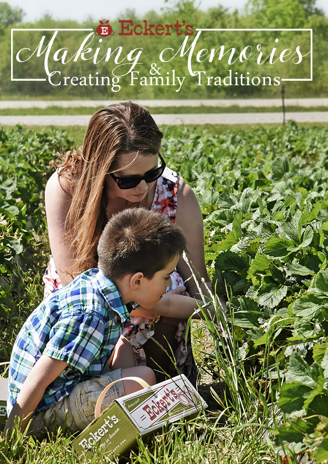 Making Memories & Creating Family Traditions at Eckert's