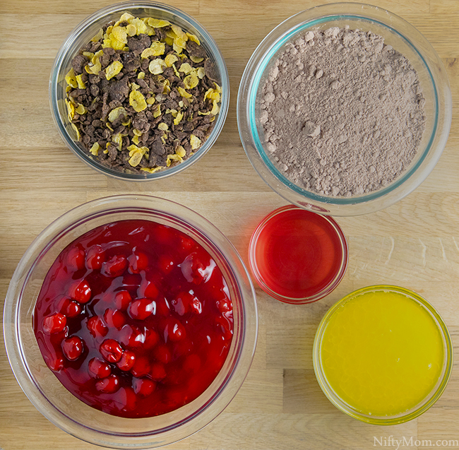 One Pan Black Forest Cake Ingredients