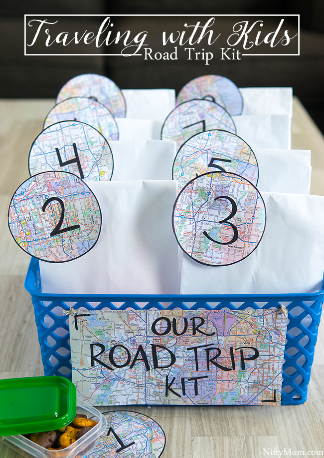 Road Trip Kit for Traveling with Kids