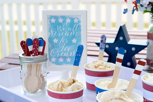 DIY Ideas & Printables for Summer Ice Cream Days