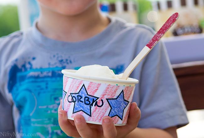 DIY Ideas & Printables for Summer Ice Cream Days - Printable Wrappers for the Kids to Design