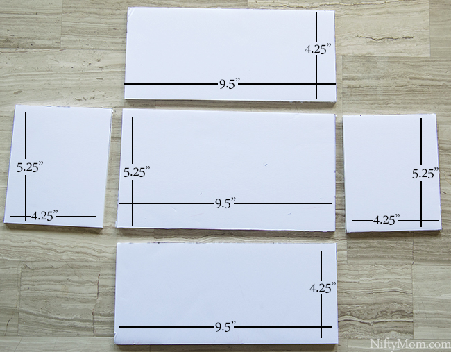Tissue Box Cover Measurements