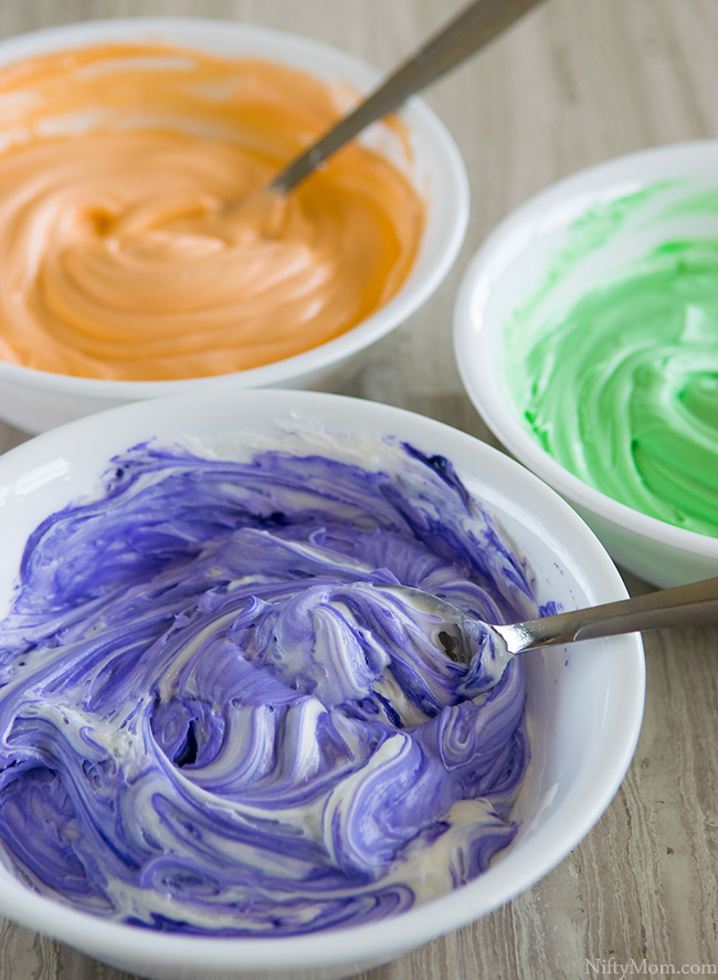 Colored Icing