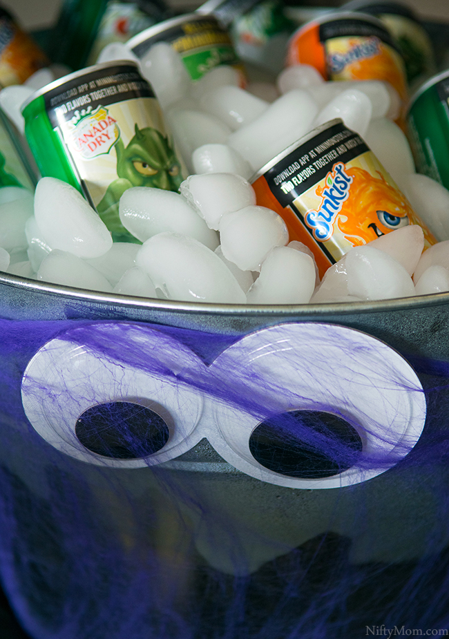 Halloween Beverage Bucket Ideas