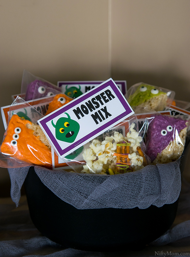 Halloween Monster Bash Party Favor Ideas