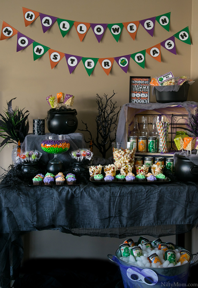 Halloween Monster Bash Party Ideas