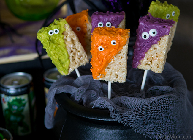 Monster Treats on a Stick