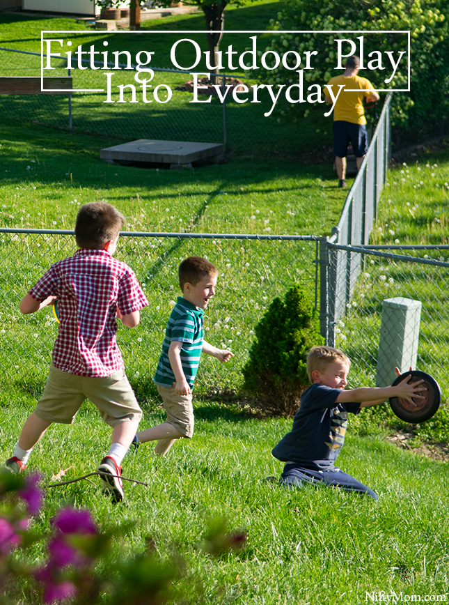 Fitting Outdoor Play into Everyday