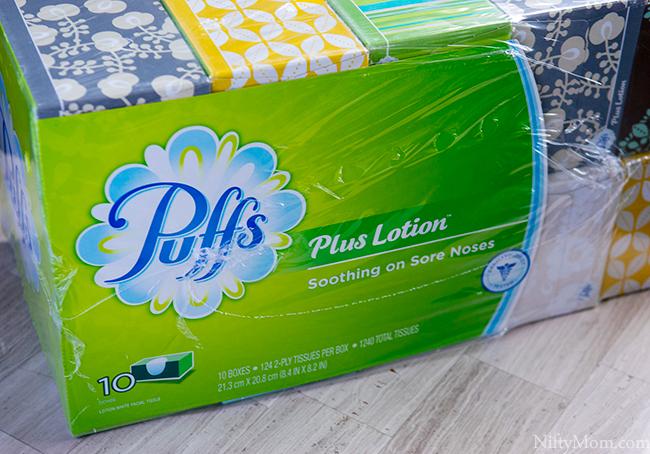 Puffs Lotion Plus at Sam's Club