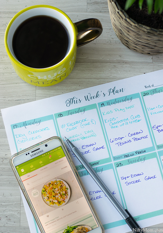 Weekly Planning Tips & A Free Printable Weekly Planning Sheet