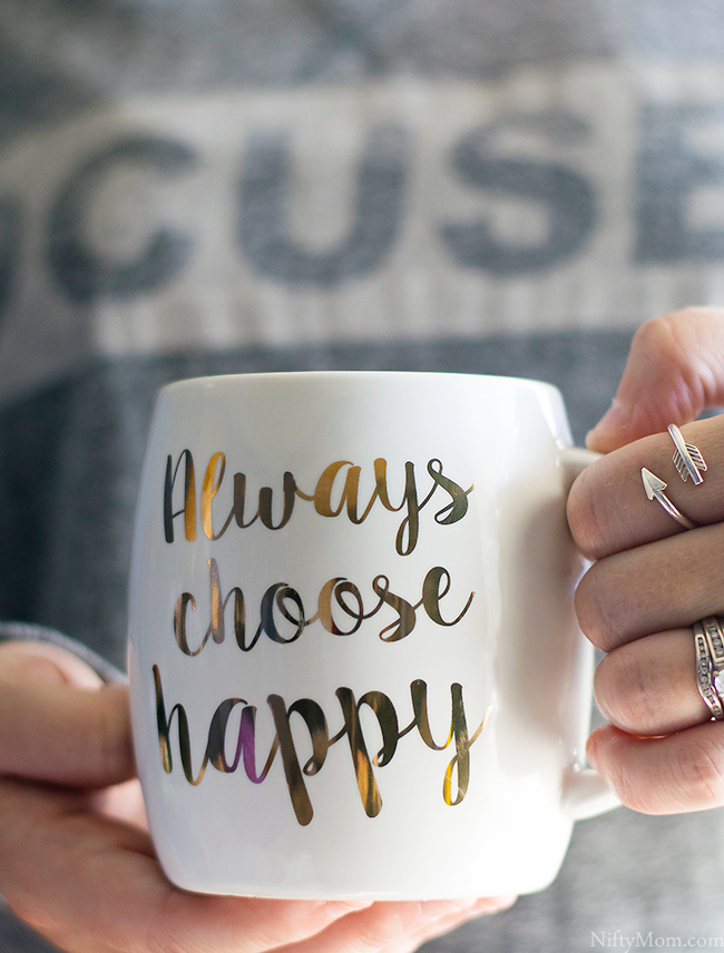 Always Choose Happy Coffee Mug