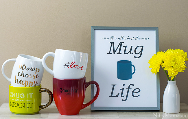 Mug Life Printable