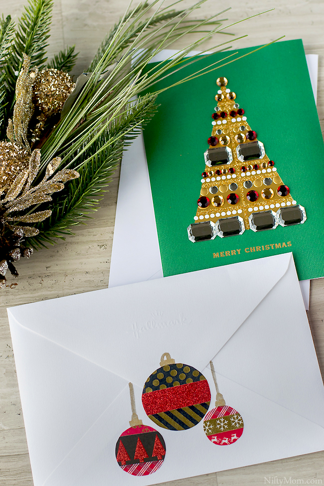 diy-washi-tape-ornaments-holiday-card-envelope