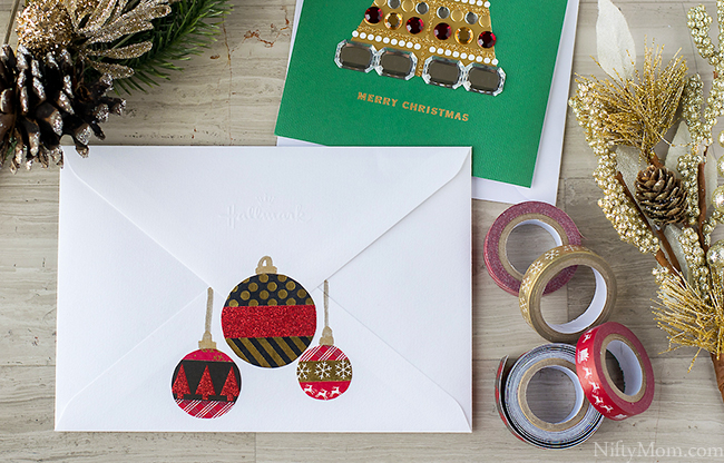diy-washi-tape-ornaments-holiday-cards