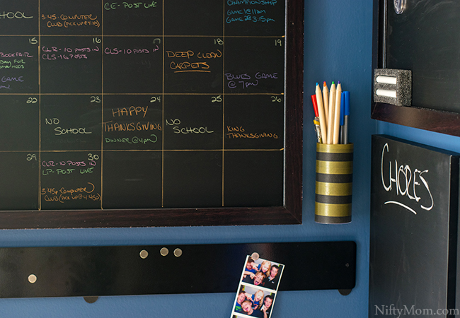home-command-center-diy-wall-pen-holder