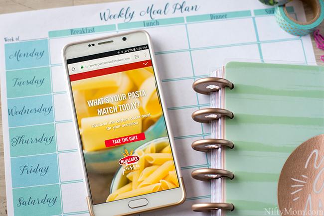 Pasta Matchmaker Quiz
