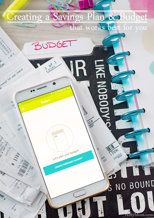 Creating a Savings Play & Budget that Works for Best for You with the EveryDollar App