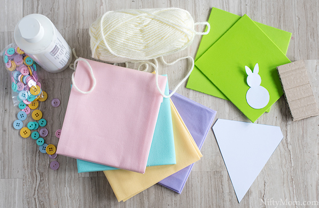 How to Make a Stamp & a Spring Bunny Banner