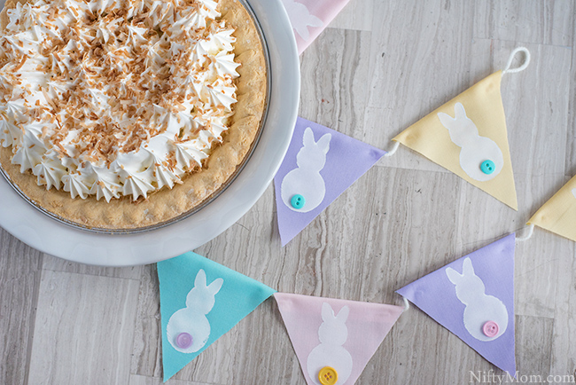 DIY Easter Bunny Banner Decor
