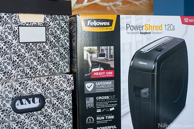 Fellowes' 12Cs shredder