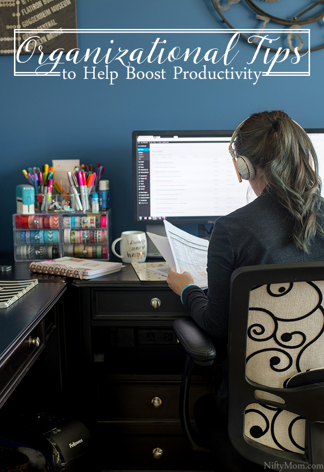 Organizational Tips to Help Boost Productivity