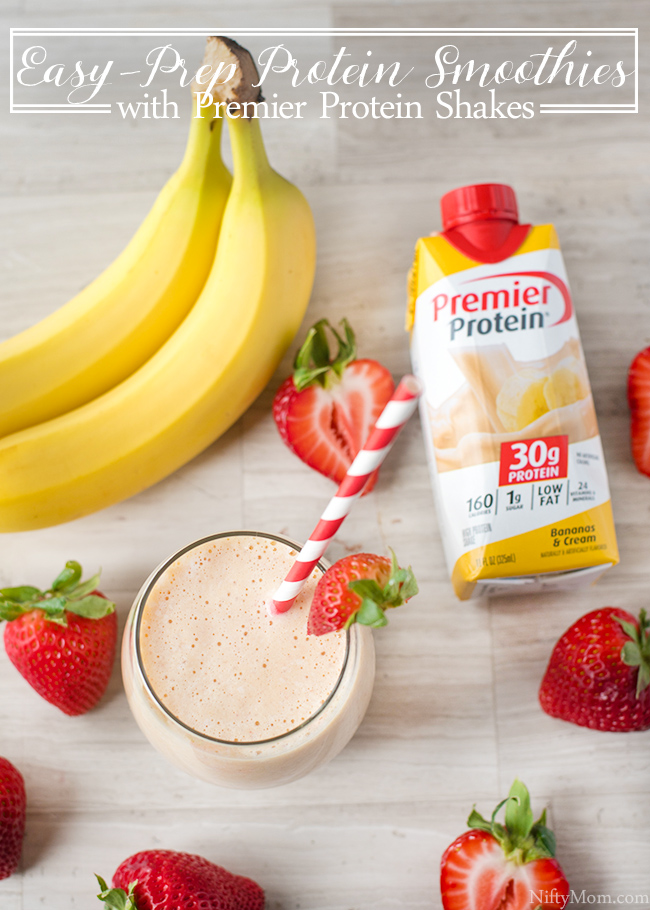 Easy-Prep Protein Smoothies with Premier Protein Shakes