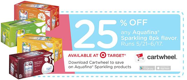 Aquafina-Sparkling-Target-Cartwheel