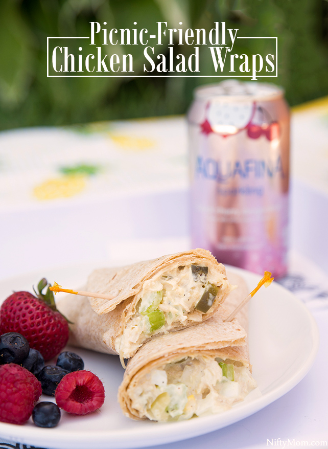 Picnic-Friendly Chicken Salad Wraps