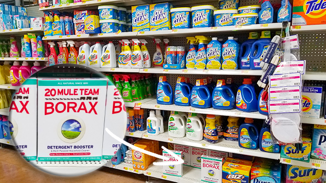 Borax at Walmart