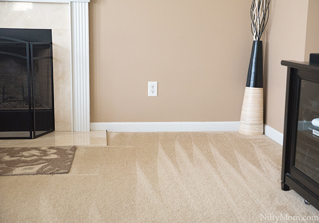 Easy Carpet Cleaning Hack {Spot Removal & Deep Cleaning}