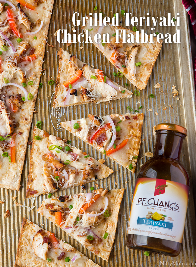 Grilled Teriyaki Chicken Flatbread Recipe