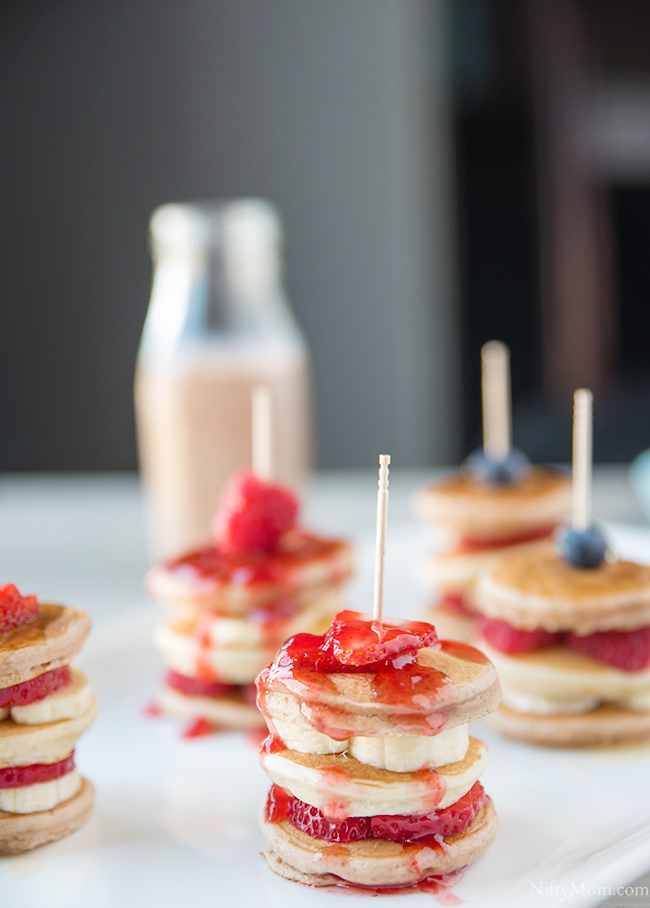 mini-pancakes-banana-milk-recipe